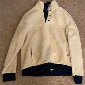 Jcrew Authentic Fleece pull over